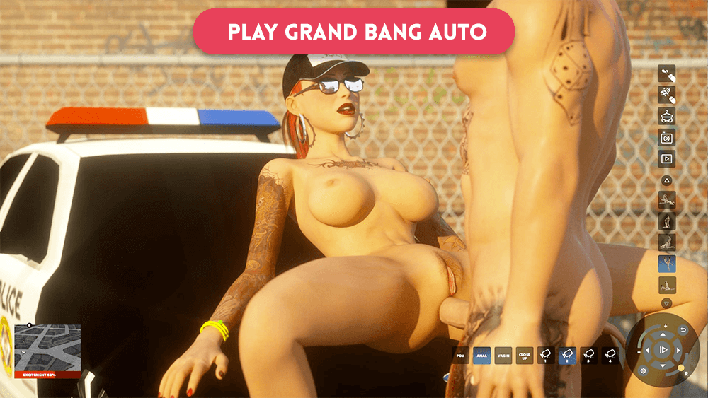 Grand Bang Auto: voted #1 sex parody game of the year!
