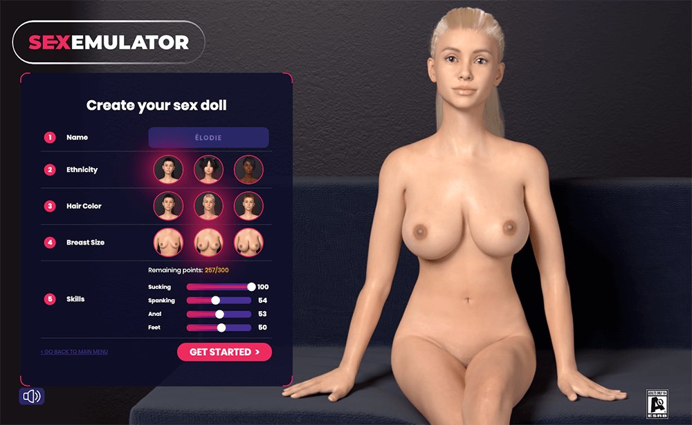 simulation 3d sex
