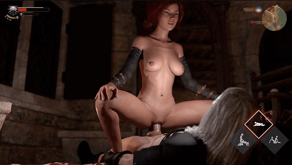 The Witcher xxx game