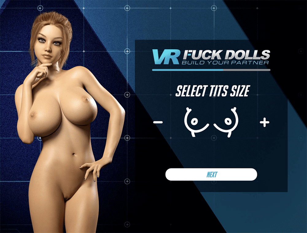VR Fuck Dolls select tits size